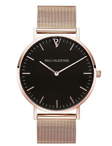 7ea8f2264c69 Women's Dress Watch Wrist Watch Gold Watch Quartz Stainless Steel Black /  Silver / Gold Cool Word / Phrase Casual Watch Analog Fashion Word Watch ...