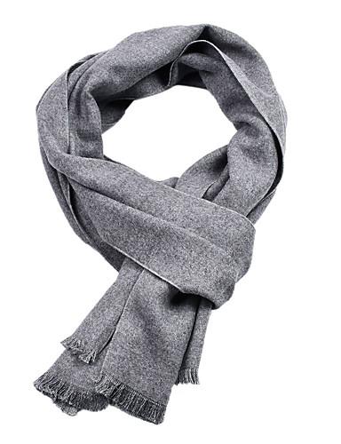 preiswerte Schals für Männer-Herrn Grundlegend Rechteckiger Schal Solide