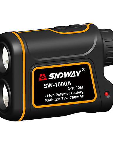 cheap 8~11-From 70% OFF Electronic Tools-SNDWAY SW-600A/1000A/1500A Telescope Laser Rangefinder 600m/1000m/1500m with Speed Difference Measuring Function With Height Difference Measuring Function Waterproof Dustproof Optical 7 Times