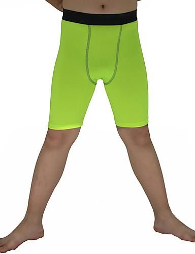 povoljno Vježbanje, fitness i joga-Muškarci Futózoknik Kompresijska košulja Biciklističke čarape Kompresija Kratke hlače Donji Prozračnosti Kompresija Rastezljiva Izzadás-elvezető Crn Mineral Green Obala Zima Vježbanje na otvorenom