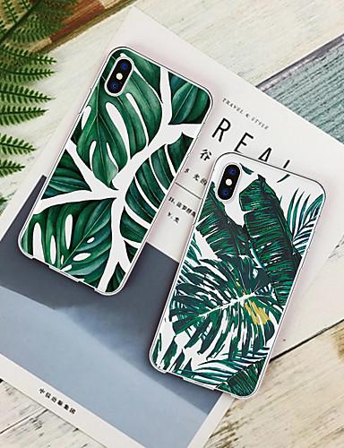 Θήκη Za Apple iPhone XS / iPhone XR / iPhone XS Max Uzorak Stražnja maska Biljke Mekano TPU