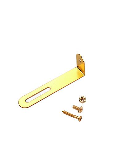 preiswerte Musikinstrumente-GV204 Gitarrenzubehör Metal Musik Gitarre Musikinstrumente Zubehör 6.3*2.1*0.1 cm