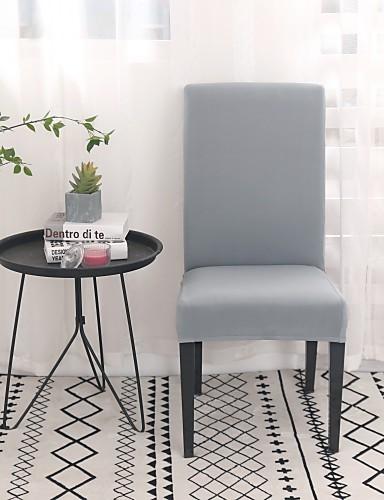 preiswerte Zimmer-Stuhlabdeckung Solide Reaktivdruck Polyester Überzüge