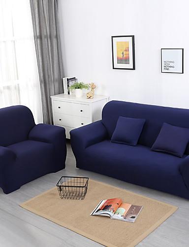 preiswerte Schlafzimmer-Sofabezug Solide Pigment Druck Polyester Überzüge