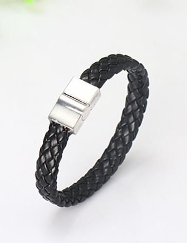 preiswerte Men's Trendy Jewelry-Herrn Grundlegend Aleación Solide / Armband