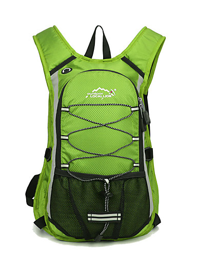 cheap Massive Clearance Sale-Cycling Backpack Sports & Leisure Bag Running Pack for Running Leisure Sports Cycling / Bike Camping / Hiking / Caving Sports Bag Multifunctional Waterproof Wearable Terylene Running Bag
