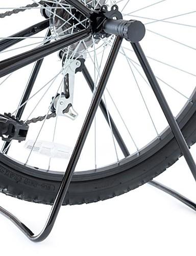 billige Sykling-Trippel sykkelstøtte Sykkelstøtte Sammenleggbar Universell Fleksibel Aluminium Metall Vei Sykkel Fjellsykkel BMX