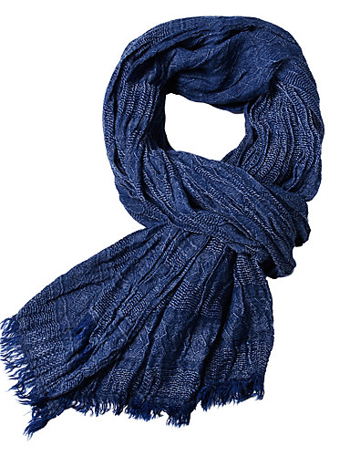 cheap Men's Scarves-Men's Basic Rectangle Scarf - Solid Colored
