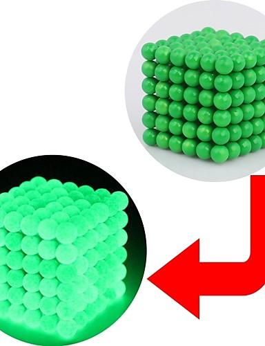 preiswerte Spielzeug & Hobby Artikel-216 pcs 3 mm Magnetspielsachen Magnetisches Spielzeug Magnetische Bälle Magnetspielsachen Superstarke Magnete aus seltenem Erdmetall Puzzle Würfel Neodym - Magnet Im Dunkeln leuchtend Stress und