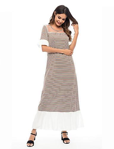 c3534e1513 Mujer Chic de Calle Elegante Recto Vestido - Malla