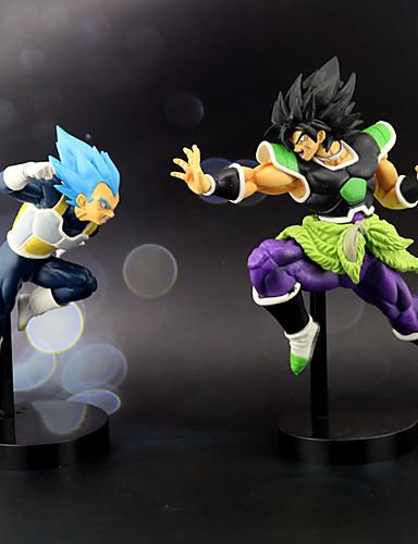 povoljno Maske i kostimi-Anime Akcijske figure Inspirirana Dragon Ball Vegeta Cosplay PVC 23 cm CM Model Igračke Doll igračkama