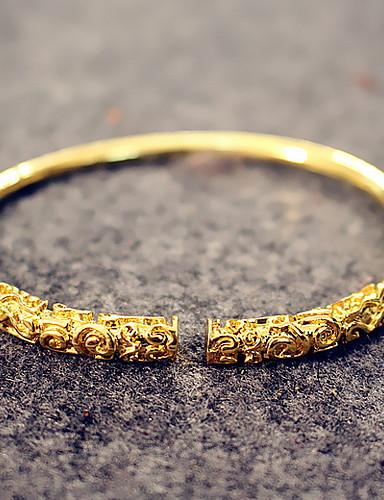 preiswerte Men's Trendy Jewelry-Herrn Damen Grundlegend Aleación Solide / Armband