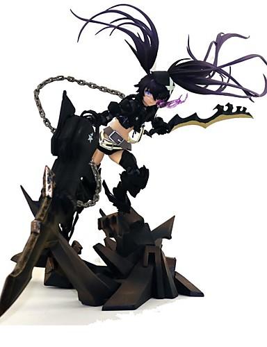 povoljno Maske i kostimi-Anime Akcijske figure Inspirirana Cosplay Black Rock Shooter PVC 27.5 cm CM Model Igračke Doll igračkama