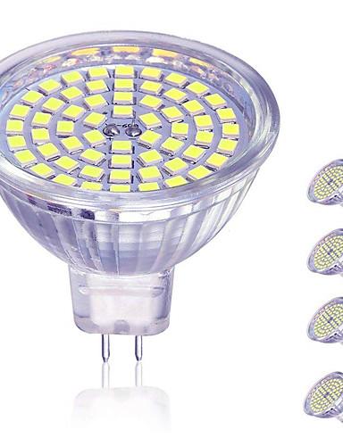 preiswerte LED Deckenlichter-4pcs 5 W 450 lm 60 LED-Perlen LED Spot Lampen Warmes Weiß Kühles Weiß 12 V