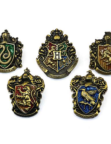 povoljno Anime cosplay-Badge Inspirirana Cosplay Magični Harry Anime Cosplay Pribor Broš Legura Noć vještica
