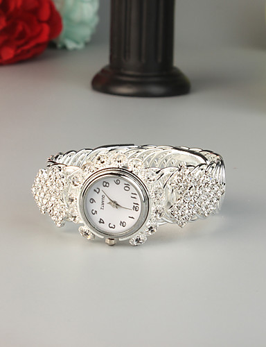 cheap Bracelet Watches-FEIS Women's Bracelet Watch Fashion Silver Alloy Quartz Silver Creative 1 pc Analog - Digital