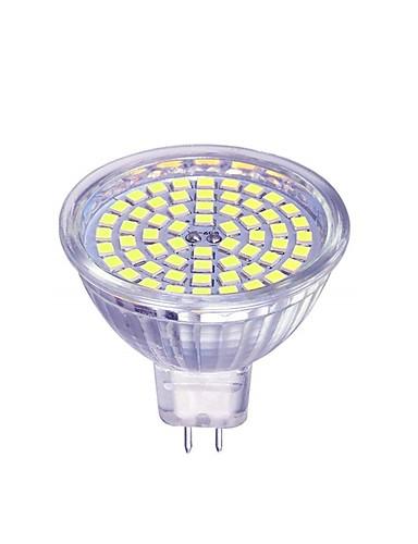 preiswerte LED Deckenlichter-1pc 5 W 450 lm 60 LED-Perlen LED Spot Lampen Warmes Weiß Kühles Weiß 12 V