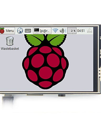 preiswerte Raspberry Pi-Himbeer-PU 3b-Modell 3,5-Zoll-LCD-Display Touchscreen mit Touch-Pen