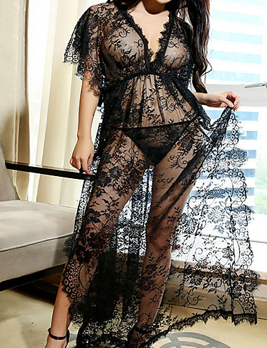 8eea2bf8e14 Women s Babydoll   Slips Nightwear - Lace   Split Geometric 7209493 2019 –   11.99