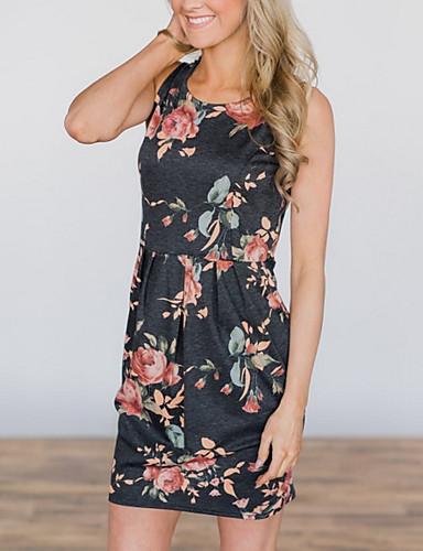 женское платье выше линии колена черное s m l xl