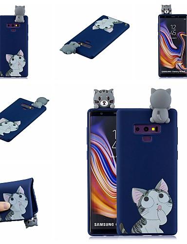 Case สำหรับ Samsung Galaxy Note 9 / Note 8 Pattern ปกหลัง Cat / การ์ตูน Soft TPU