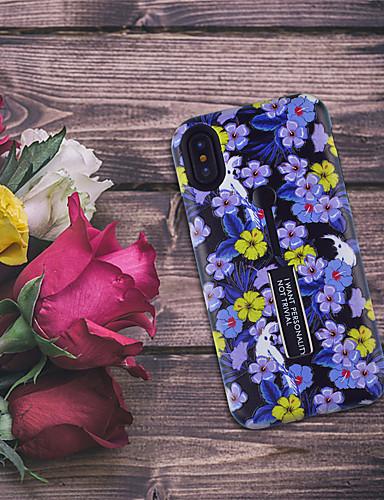 Case สำหรับ Apple iPhone XS / iPhone XR / iPhone XS Max Pattern ปกหลัง ดอกไม้ Soft TPU