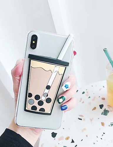 Case สำหรับ Apple iPhone XS / iPhone XR / iPhone XS Max Frosted ปกหลัง อาหาร Hard TPU
