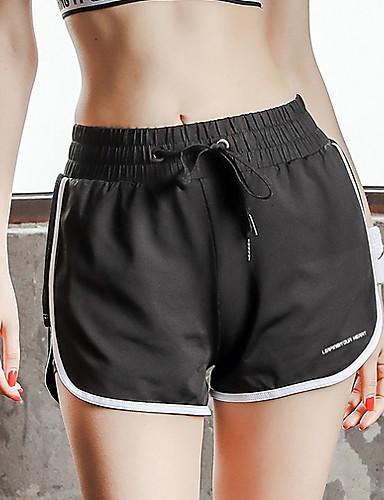 สำหรับผู้หญิง Street Chic กางเกงวอร์ม กางเกง - ลายแถบ ขาว ส้ม L XL XXL