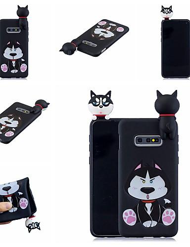 Case สำหรับ Samsung Galaxy S9 / S9 Plus / S8 Plus Pattern ปกหลัง Dog / การ์ตูน Soft TPU