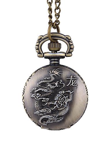 สำหรับผู้หญิง นาฬิกาควอตส์ นาฬิกาอิเล็กทรอนิกส์ (Quartz) สไตล์วินเทจ ที่ระลึก ทองแดง 30 m แกะสลักกลวง ดีไซน์มาใหม่ ปุ่มหมุนขนาดใหญ่ ระบบอนาล็อก ของโบราณ Cartoon - เขียวเข้ม / หนึ่งปี