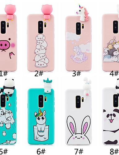 Case สำหรับ Samsung Galaxy S9 / S9 Plus / S8 Plus Frosted / DIY ปกหลัง การ์ตูน Soft TPU