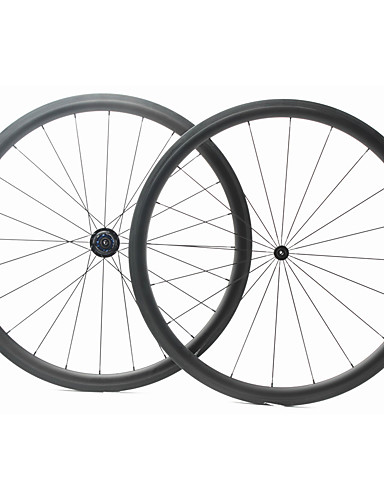 preiswerte Fahrrad-Räder-FARSPORTS 700CC Radsätzen Radsport 23 mm Rennrad Kohlefaser Röhrenförmig 20/24 Speichen 38 mm