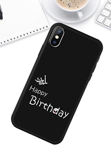 Case สำหรับ Apple iPhone XS / iPhone XR / iPhone XS Max Pattern ปกหลัง Word / Phrase Soft TPU