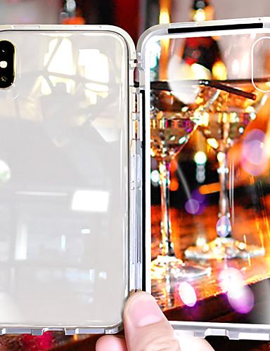 Case สำหรับ Apple iPhone XS / iPhone XR / iPhone XS Max Shockproof / Transparent ปกหลัง โปร่งใส Hard แก้วไม่แตกกระจาย / Aluminium