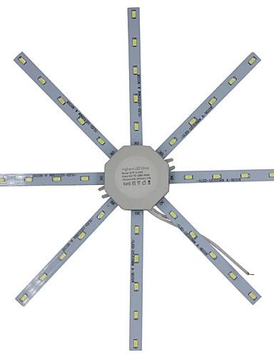 preiswerte LED Deckenlichter-1 set 20 W * 40 LED-Perlen Neues Design Deckenleuchten Instrumententafel-Leuchten Warmes Weiß Kühles Weiß 220 V Schlafzimmer Badezimmer