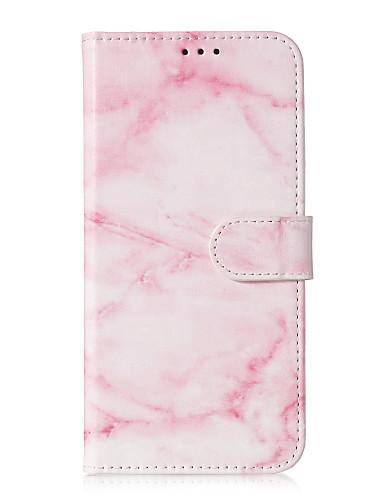 Case สำหรับ Samsung Galaxy S9 / S9 Plus / S8 Plus Card Holder / Pattern ตัวกระเป๋าเต็ม Marble Hard หนัง PU
