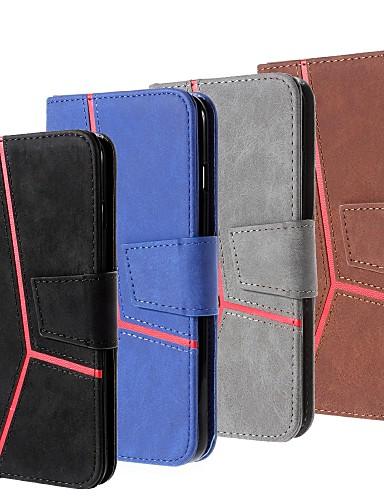 Case สำหรับ Samsung Galaxy S9 / S9 Plus / S8 Plus Wallet / Card Holder / with Stand ตัวกระเป๋าเต็ม สีพื้น Hard หนัง PU