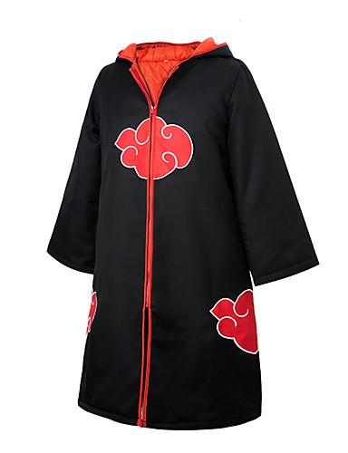 povoljno Maske i kostimi-Inspirirana Naruto Jyuugo / Karin / Sasuke Uchiha Anime Cosplay nošnje Japanski Cosplay Tops / Bottoms Anime Dugih rukava Plašt Za Uniseks