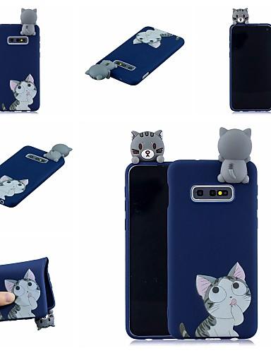 Case สำหรับ Samsung Galaxy S9 / S9 Plus / S8 Plus Pattern ปกหลัง Cat / การ์ตูน Soft TPU