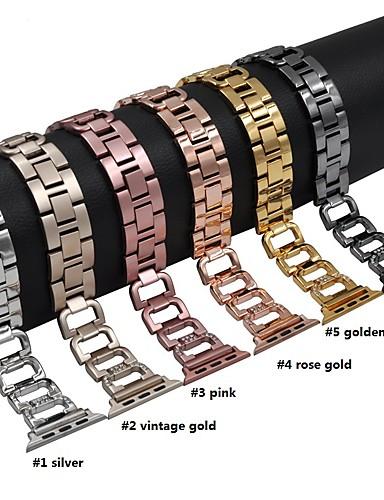 สายนาฬิกา สำหรับ Apple Watch Series 4/3/2/1 Apple หัวกลัดแบบโมเดิล โลหะ สายห้อยข้อมือ