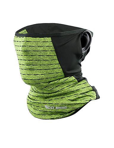 povoljno Odjeća za vožnju biciklom-WEST BIKING® vrat Gamaše UV otporan Prozračnosti Puha Bicikl / Biciklizam Plava Siva Tamno zelena za Uniseks Odrasli Bicikl Jednobojni / Rastezljivo