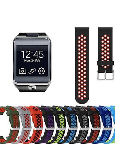 สายนาฬิกา สำหรับ Gear 2 R380 / Gear 2 Neo R381 / Gear Live Samsung Galaxy สายยางสำหรับเส้นกีฬา ยางทำจากซิลิคอน สายห้อยข้อมือ