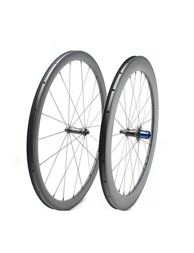 preiswerte Fahrrad-Räder-FARSPORTS 700CC Radsätzen Radsport 25 mm Rennrad Kohlefaser Trumpf / Schlauchlos Kompatibel 20/24 Speichen 38 mm / 60 mm