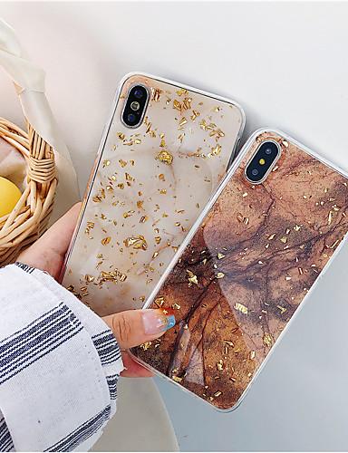 กรณีสำหรับ apple iphone xr / iphone xs max แบบปกหลังหินอ่อน soft tpu สำหรับ iphone x / xs / 6/6 บวก / 6 วินาที / 6 วินาทีบวก / 7/7 บวก / 8/8 บวก