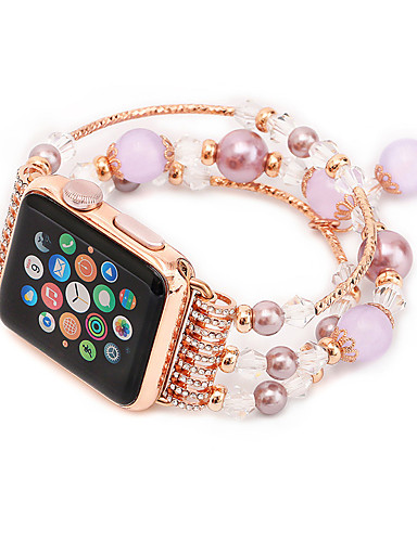 สายนาฬิกา สำหรับ Apple Watch Series 4/3/2/1 Apple การออกแบบเครื่องประดับ เซรามิก สายห้อยข้อมือ