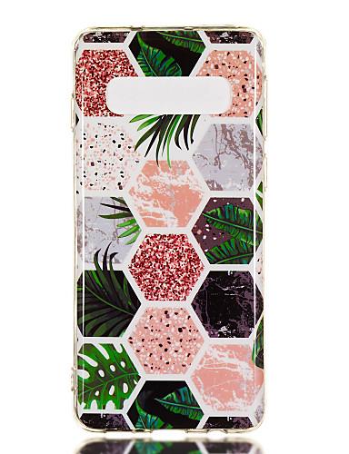 Case สำหรับ Samsung Galaxy S9 / S9 Plus / S8 Plus IMD / Pattern ปกหลัง Marble Soft TPU