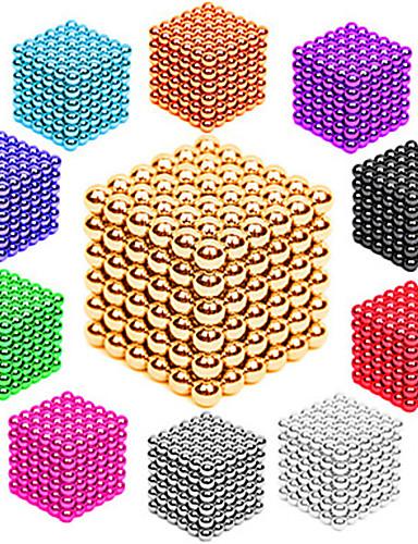 preiswerte Spielzeug & Hobby Artikel-216/512 pcs 3mm / 5mm Magnetspielsachen Magnetische Bälle Bausteine Superstarke Magnete aus seltenem Erdmetall Neodym - Magnet Neodym - Magnet Stress und Angst Relief Büro Schreibtisch Spielzeug