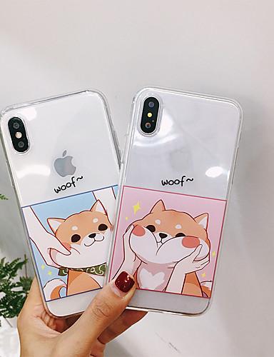 กรณีสำหรับรุ่นร้อน apple iphone xr iphone xs max แบบปกหลังสุนัข soft tpu สำหรับ iphone 6 6 พลัส 6 วินาที 6 วินาทีพลัส 7 8 7 พลัส 8 7 บวก 8 บวก x xs xr xs max