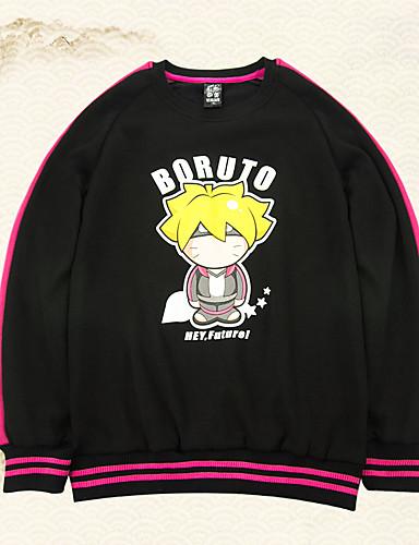 povoljno Anime cosplay-Inspirirana Naruto Boruto Anime Cosplay nošnje Japanski Cosplay Tops / Bottoms Anime Dugih rukava Top Za Uniseks