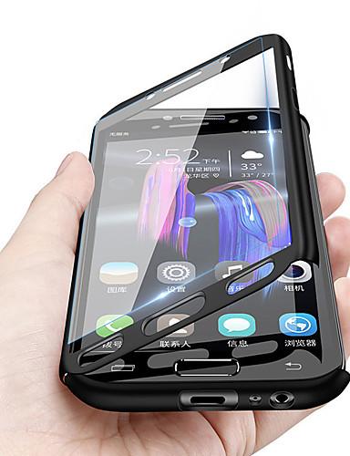 [$4 99] Capinha Para Huawei Huawei Honor 8X / Huawei Honor 8X Max  Antichoque / Ultra-Fina / Áspero Capa Proteção Completa Sólido Rígida PC  para